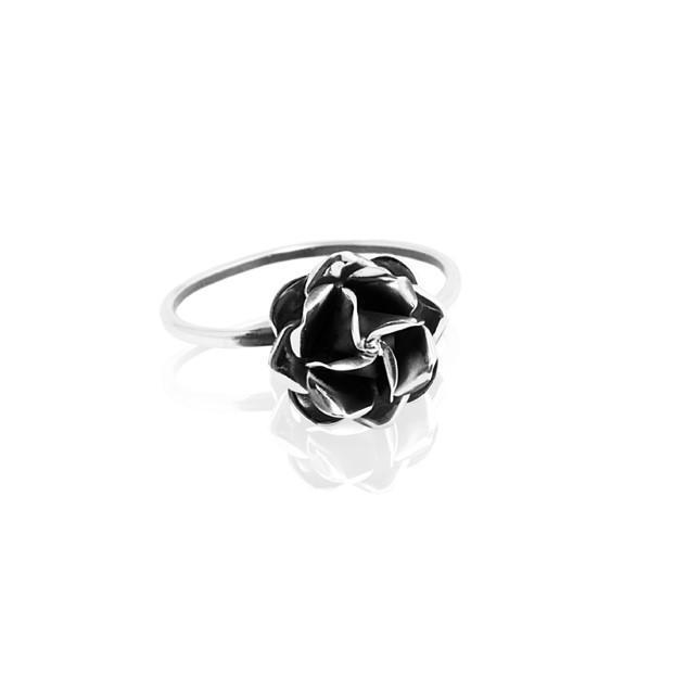 Silver Ring Rosita' black