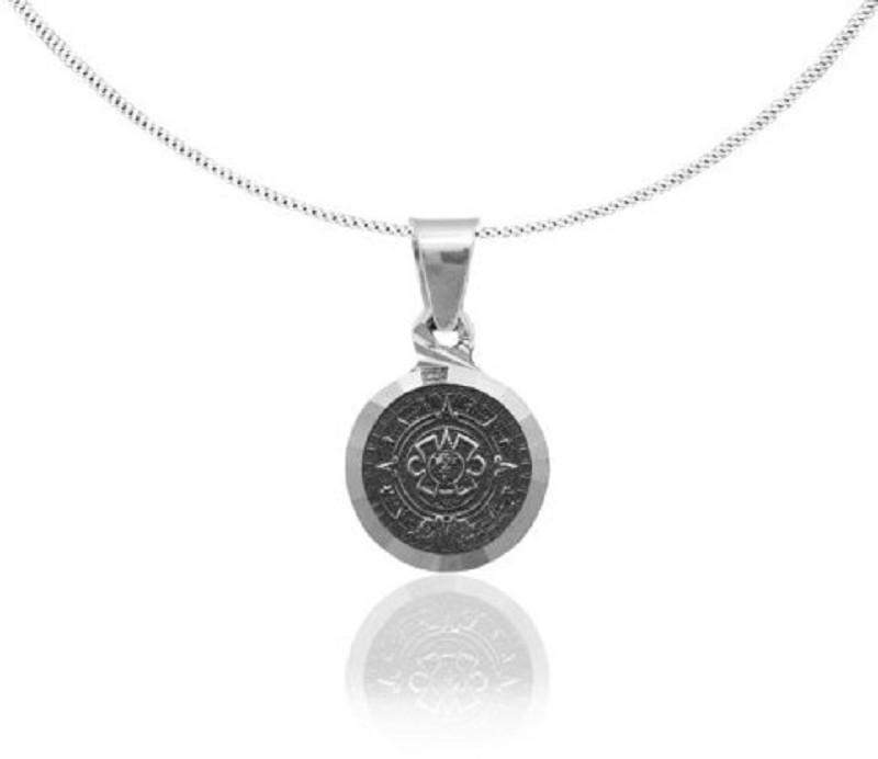 """Pendant """"Eternidad"""" oxidised silver"""
