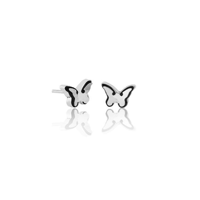 "Ear studs ""Mariposita"""