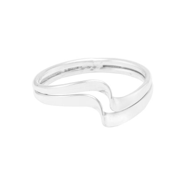 """Ring """"Olas planas"""" #8"""