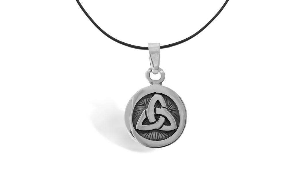 """Silver Pendant """"Triangulo"""" triangle"""