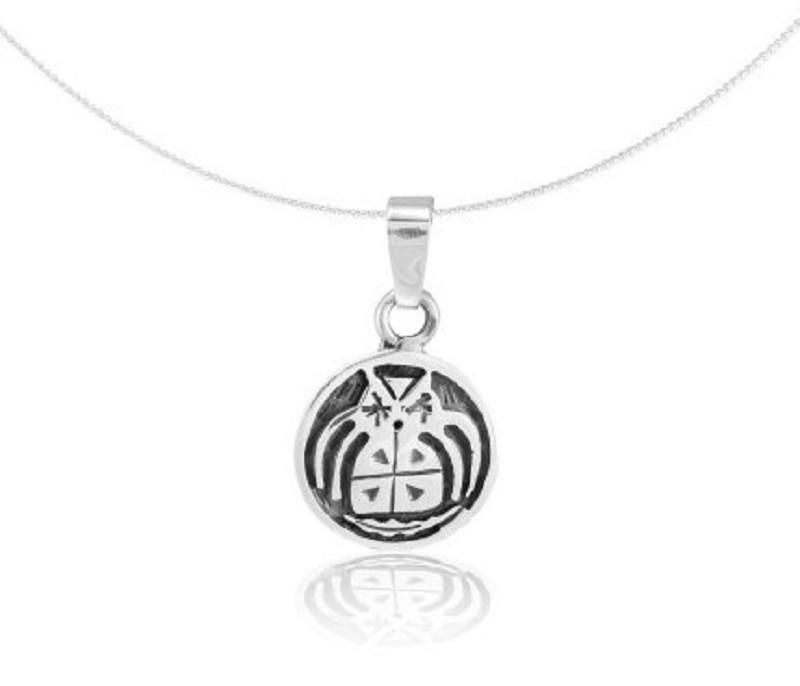 "Silver Pendant ""Búho"" (22.11. – 22.12.) sagittarius"