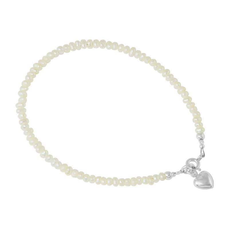 """Armkette """"Perlitas Corazón"""""""