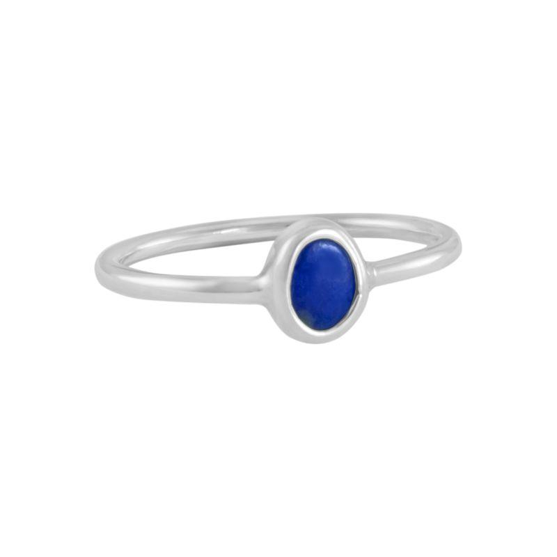 """Ring """"Ovalado Lapizlazul"""" #6"""