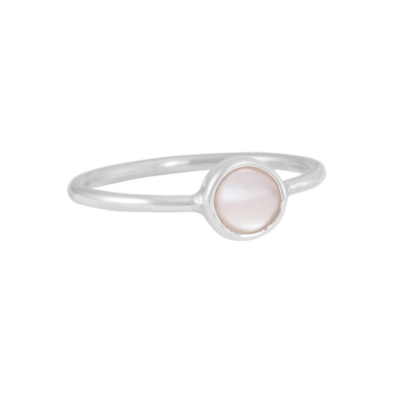 "Ring ""Redondo Madre Perla"" #7"