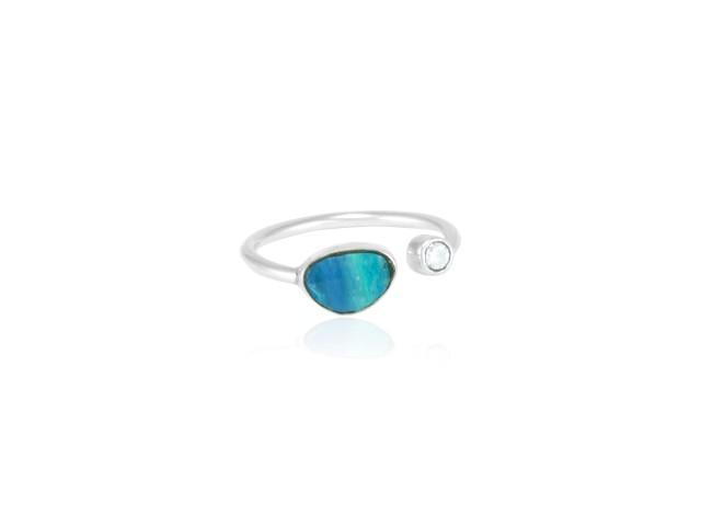"""Ring """"Destello del mar"""""""