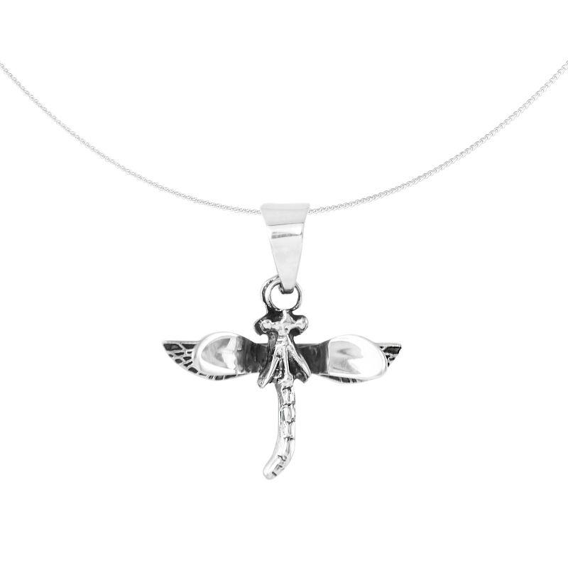 Silver Pendant 'Libélula' dragon-fly