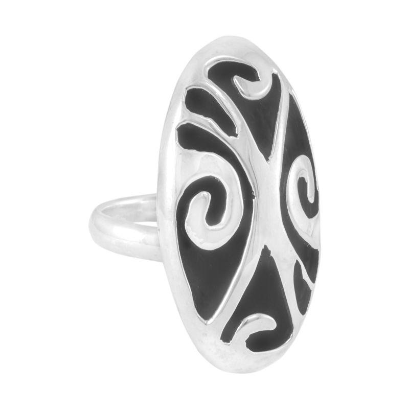 Silver Ring 'Adorno' ornament