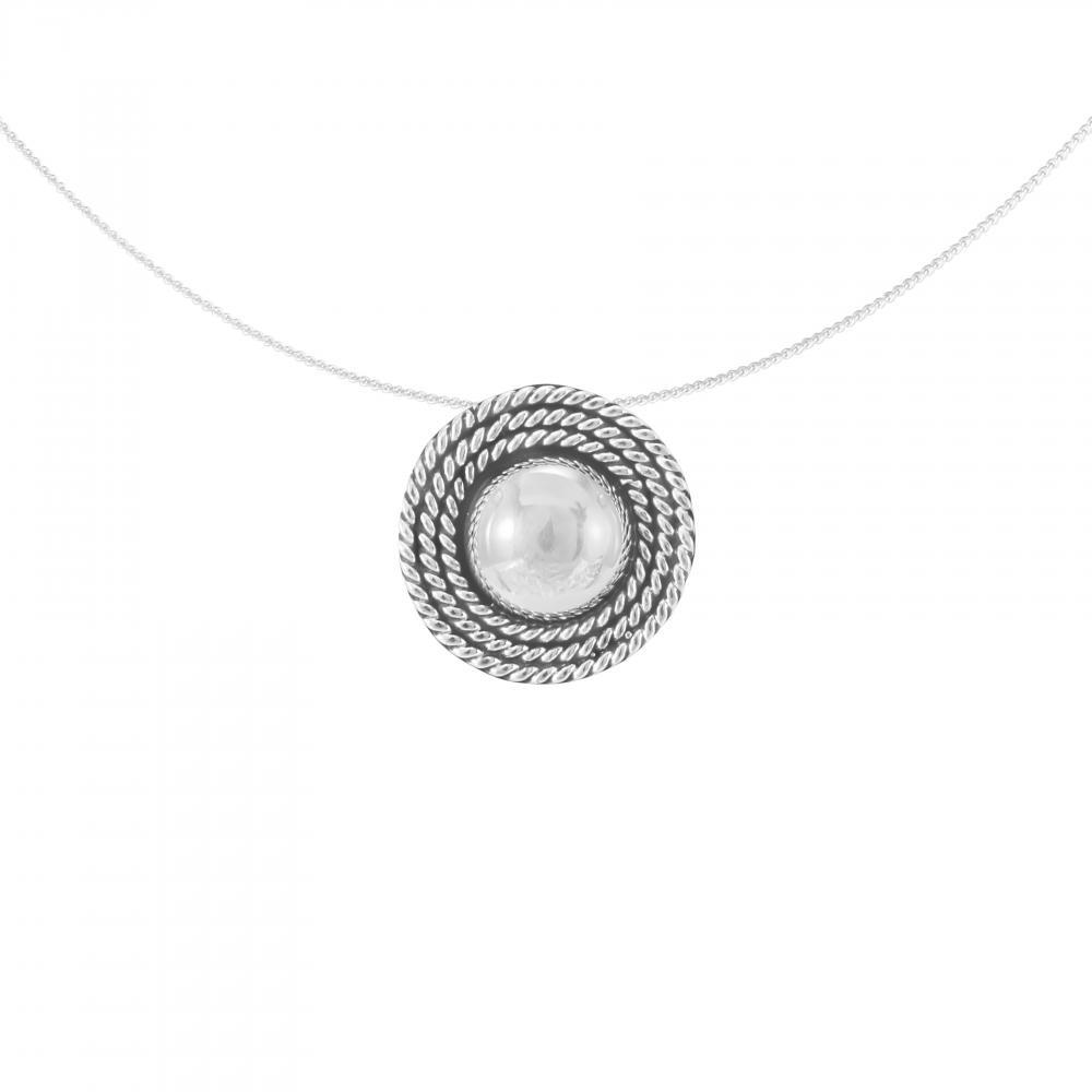 Silver Pendant 'Florentine'