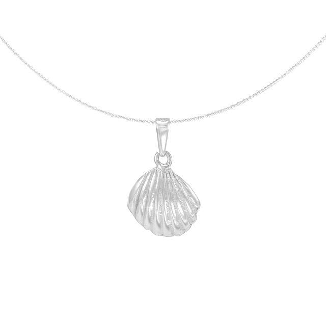 Silver Pendant 'Concha' shell