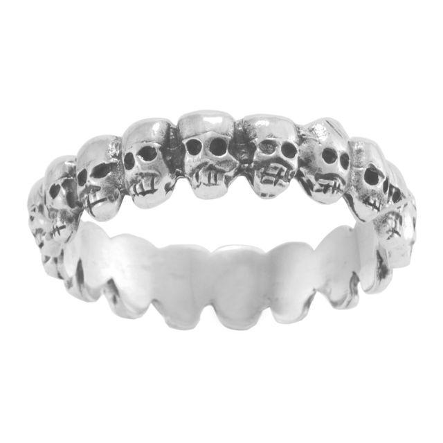 "Ring ""Mini Cráneos"" #16"