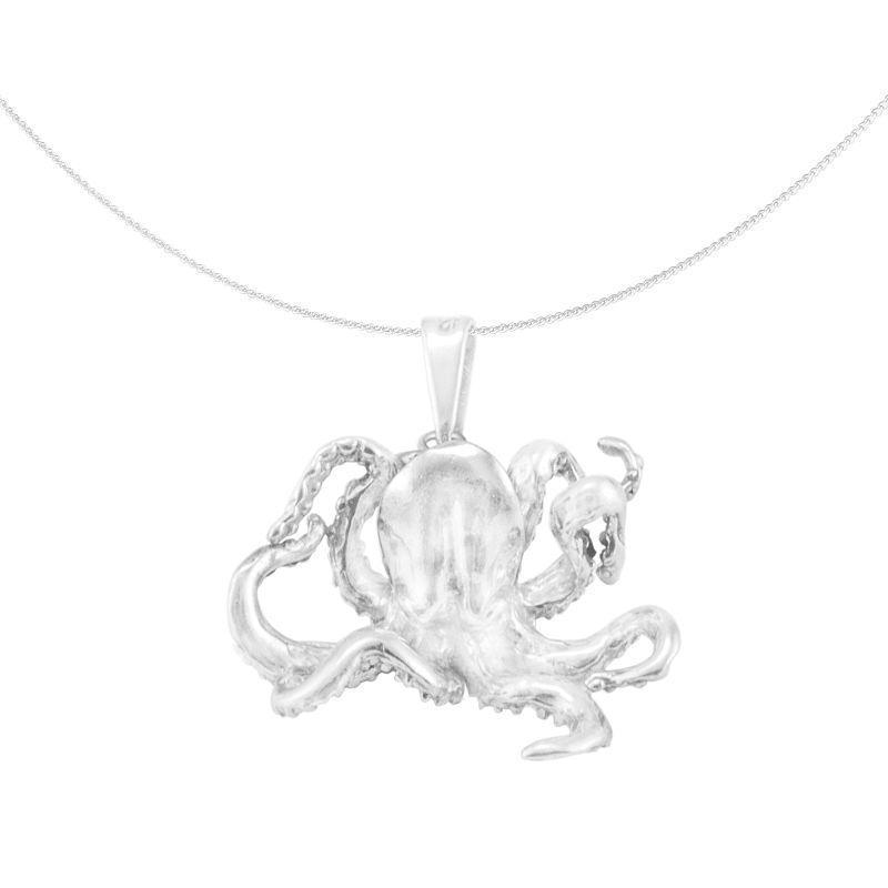 Silver Pendant 'Pulpo' octopus