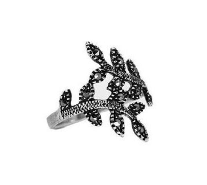 """Ring """"Hojas"""" #8"""