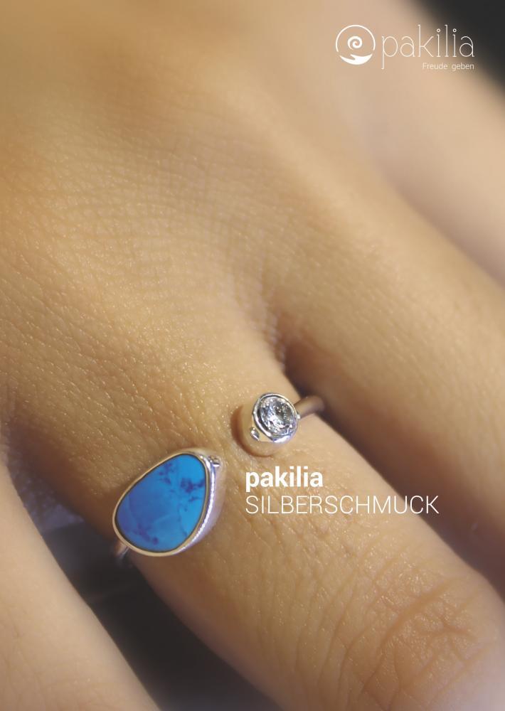 "Plakat Ring ""Destello del mar"""