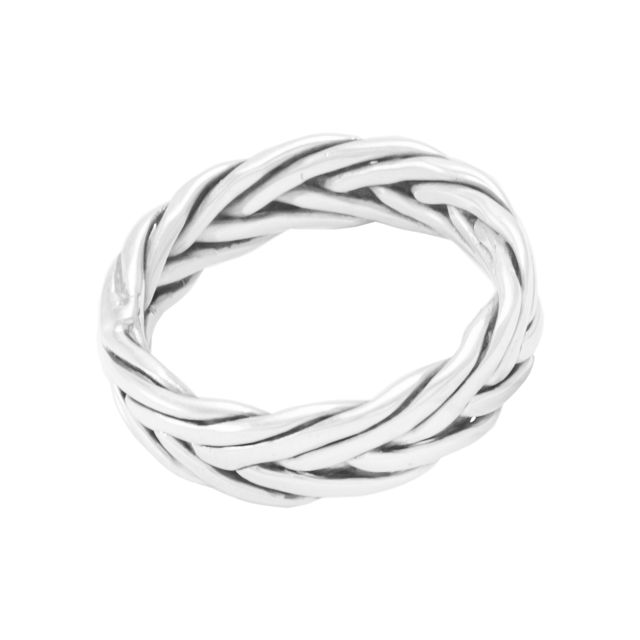 "Ring ""Trenzado"" #8"