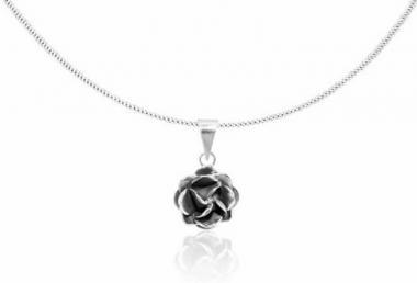 """Pendant """"Rosita"""" oxidised silver"""