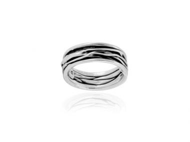 "Ring ""Corrugado"" slim"