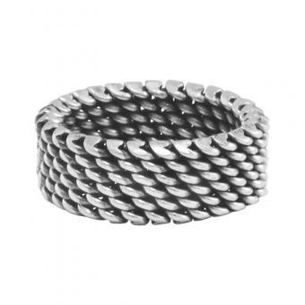 """Ring """"Panza de Vibora"""" #10"""