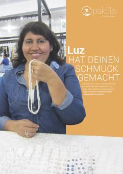 """Plakat """"Wer hat Deinen Schmuck gemacht""""   - Luz"""
