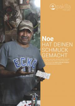 """Plakat """"Wer hat Deinen Schmuck gemacht"""" - Brüder Velazquez"""