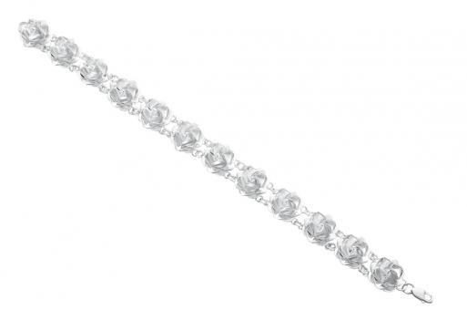 """bracelet """"Sueño de rosas"""" silver"""