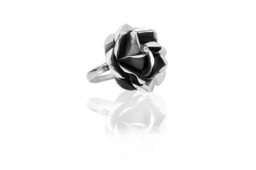 """Ring """"Rosa"""" dunkel groß"""
