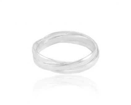 """Ring """"Tres Argollas"""", 8"""