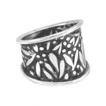 "Ring ""Guirnalda"" breit #8"