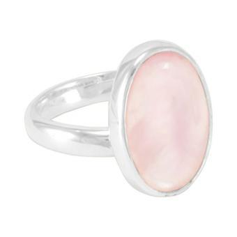 """Ring """"Madreperla rosa"""""""