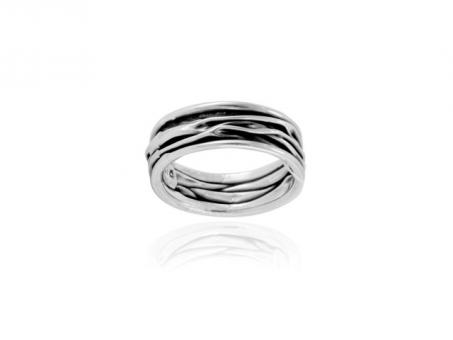 "Ring ""Corrugado"" slim"