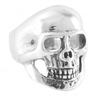 "Ring ""Cráneo liso"""