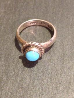 """Ring """"Turquesa"""", Größe 6.25"""