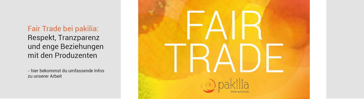 Fairtrade banner mit link zur infoseite